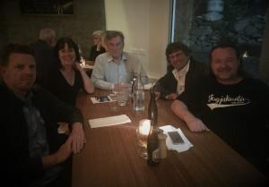 Dinner with JusTas members